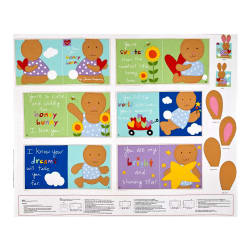 Huggable & Loveable I love You Honey Bunny Soft Book Panel