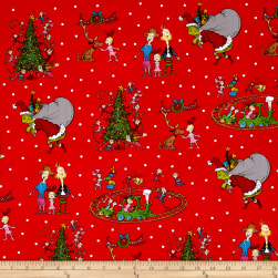 How The Grinch Stole Christmas Grinch Collage Red