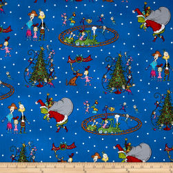 How The Grinch Stole Christmas Grinch Collage Blue