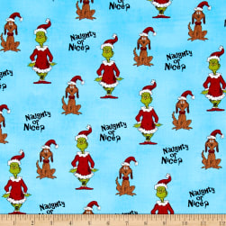 How The Grinch Stole Christmas Naughty Or Nice Blue
