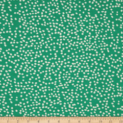 Birch Organic Mod Basics 3 Interlock Knit Firefly Dots Pond