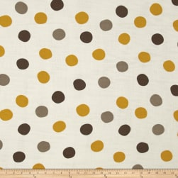Birch Organic Mod Basics 3 Double Gauze Pop Dots Golden