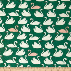 Birch Organic Swan Lake Double Gauze Bevy Pond