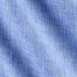 Telio Umbria Linen Blue Solid Fabric