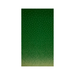 Michael Miller Holiday Glitz Confetti Border Spearmint Metallic
