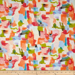 Michael Miller Valencia Color Play Orange Fabric