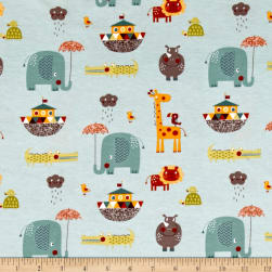 Riley Blake Cotton Jersey Knit Giraffe Crossing 2