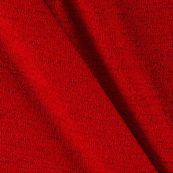 Telio Lightweight Sweater Knit Red Fabric