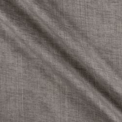 Telio Washed Linen Charcoal Fabric