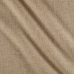 Telio Washed Linen Sand Fabric