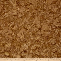Kaufman Prisma Dyes Batik Mottled Walnut Poplin Fabric