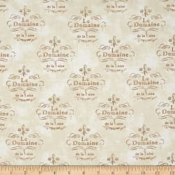 Kaufman Vineyard Collection Le Domaine Ivory Fabric