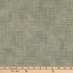 Kaufman Quilter's Linen Metallic Taupe Fabric