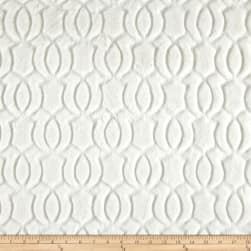 Minky Moscow Snuggle Ivory Fabric