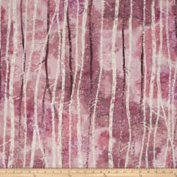 Kaufman Sugar Plum Trees Rose Fabric