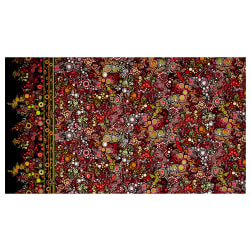 Kaufman Effervescence Single Border Autumn