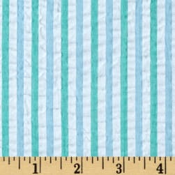 Kaufman Breaker's Seersucker Mint Fabric