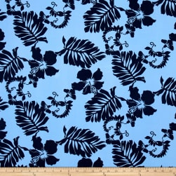 Kaufman Paradise Pareaus 3 Large Tropical Powder Fabric