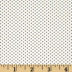 Kaufman Sevenberry Petite Basics Mini Dot Evening