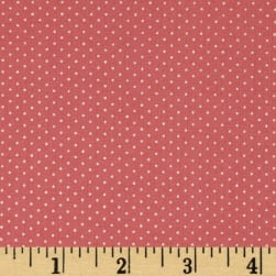 Kaufman Sevenberry Petite Basics Mini Dot Blush Fabric