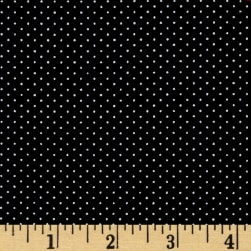 Kaufman Sevenberry Petite Basics Mini Dot Black