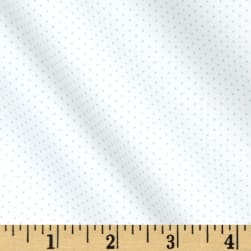 Kaufman Sevenberry Petite Basics Mini Dot Sky Fabric