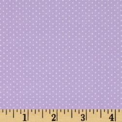 Kaufman Sevenberry Petite Basics Mini Dot Lavender Fabric