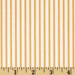 Kaufman Sevenberry Petite Basics Mini Stripe Wheat Fabric
