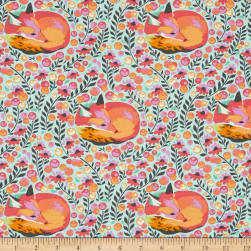 Tula Pink Chipper Fox Nap Sorbet Fabric