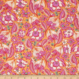 Tula Pink Chipper Wild Vines Sorbet Fabric