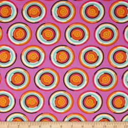 Tula Pink Chipper The Hypnotizer Sorbet Fabric
