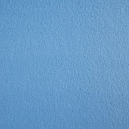 Polar Fleece Solid Sky Blue Fabric
