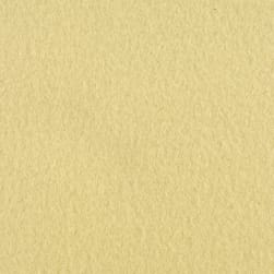 Polar Fleece Solid Light Yellow Fabric