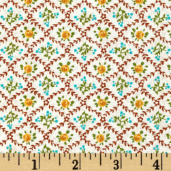 Kaufman London Calling Lawn Wall Paper Retro Fabric