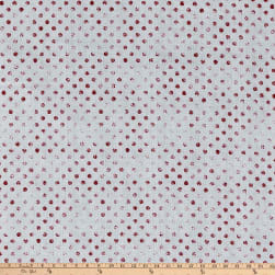 Essentials Dotsy Gray Red