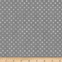 Essentials Dotsy Dark Gray Fabric