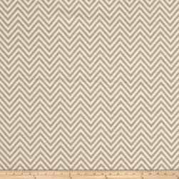 Come Sit A Spell Chevron Cream/Gray Fabric