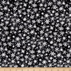 Essentials Snowflakes Black