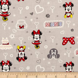 Disney Mickey Mouse & Friends Minnie Zinc Fabric