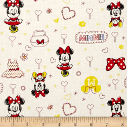 Disney Mickey Mouse & Friends Minnie White