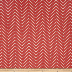Premier Prints Chevron Twill Coral Fabric