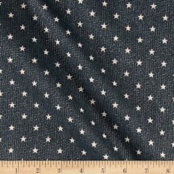 Premier Prints Mini Star Loni/Gunmetal Fabric