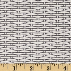 Magnolia Home Fashions Basket Weave Slate Fabric