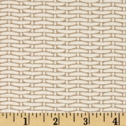 Magnolia Home Fashions Basket Weave Sand Fabric