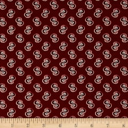 Penny Rose Americana ll Swirl Red Fabric