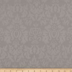 Ansley Home Decor Cotton Jacquard Solid Taupe Fabric