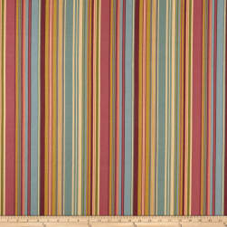 Ansley Home Decor Cotton Duck Stripe Multi Fabric