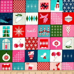 Cotton + Steel Garland Merry Memory Multi Fabric