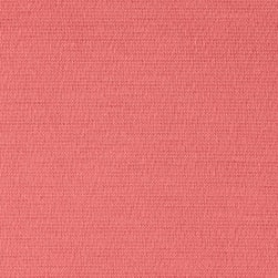 Fabric Merchants Ponte de Roma Solid Coral Fabric