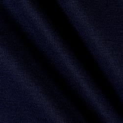 Fabric Merchants Ponte de Roma Solid Navy Fabric